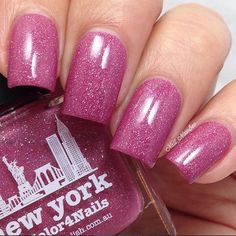 """""""Louice aka @nail_newbee wearing 'New York' ❤️❤️thank you :) Shoplink in bioor www.picturepolish.com.au + we ship to selected countries and for international on-line stockists please see that page """" Photo taken by @picturepolish on Instagram"""