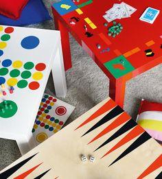 IKEA HACK - Tischplatten als Brettspiele