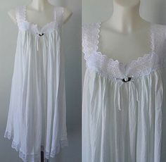 A personal favorite from my Etsy shop https://www.etsy.com/ca/listing/286450159/vintage-cotton-nightgown-victoria-anne