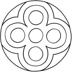 Mandalas zum Ausdrucken Radial Pattern, Copper Paint, Elderly Activities, Art Journal Inspiration, Learn To Draw, Mandala Design, Colored Pencils, Coloring Pages, Symbols