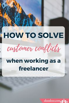 Customer conflicts are part of daily life of a freelancer. Here are some useful advices about how to remain calm and not go crazy when you have to deal with a customer conflict by yourself. Remain Calm, Brand Management, Creative Thinking, Going Crazy, Online Business, Branding Design, Web Design, Studio, Tips