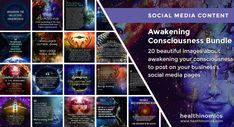 ❤️ DOWNLOAD SOCIAL MEDIA CONTENT ❤️ 🧠 🙎 Awakening Consciousness Bundle 🧠 🙎 - Awakening your consciousness is not something you can do once and forget about it. It's the process of making choices and gaining the experience of higher levels of consciousness. It's about finding your own unique balance of living a healthy life of purpose without abandoning life in society. #GreatAwakening #Awakening #Consciousness Third Eye Awakening, Great Awakening, Collective Consciousness, Levels Of Consciousness, Social Media Images, Social Media Content, Spiritual Path, Spiritual Awakening, Soul Contract