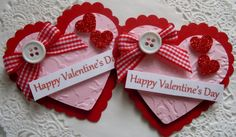 Hey, I found this really awesome Etsy listing at https://www.etsy.com/listing/177531449/valentine-heart-paper-embellishments-set