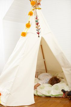 We've got a teepee on the way.