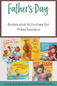 Father's Day Books and Activities | Father's Day is right around the corner, and it's about time to think of a way to say Thank You to Dad. Read a few of these extra special Father's Day books. Then do a project or two to show Dad just how much you love him.