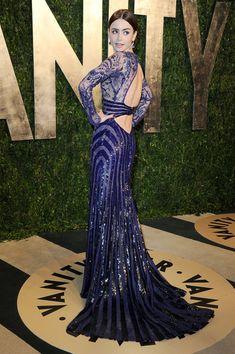 Lily Collins Photos: 2013 Vanity Fair Oscar Party Hosted By Graydon Carter - Arrivals