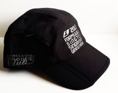 Official 2013 Formula 1 Singapore Grand Prix Cap Licenced Product F1