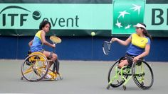 NEWS: Brazil are looking strong as day two concludes at the World Team Cup 🎾🇧🇷  #wheelchairtennis #ElectronicsStore