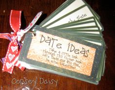Date Ideas Book - Link to book no longer works, but I'm sure I could come up with something on my own - like the idea though. #thedatingdivas