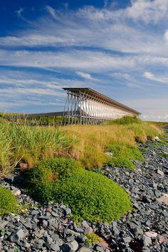 Steilneset memorial, Vardø, Norway by Peter Zumthor and Louise Bourgeois