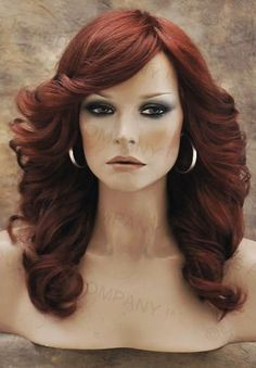 farrah-fawcett-Glamorous-New-Big-open-Wavy-Copper-Red-Wig-Medium-CA-130