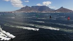 The start of leg 2 from Cape Town, South Africa to Abu Dhabi, UAE.  Credit : VOR