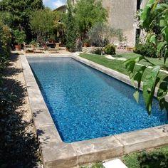 Piscine style bassin