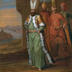 Follower of Jean Baptiste Vanmour AHMED III AND HIS RETINUE