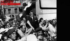 June 23, 1956: Egypt: Gamal Abdel Nasser was elected president of Egypt.