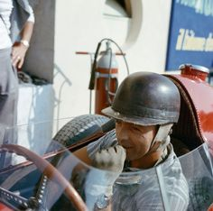 Phill Hill, Monza, Italy, 1958