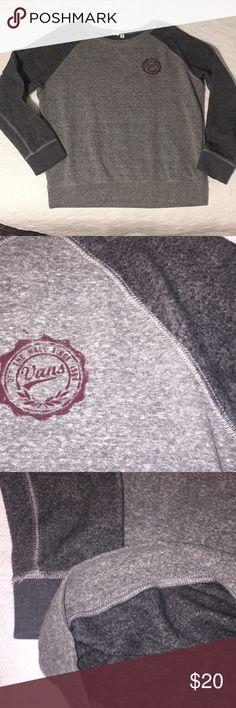 Brand New Vans Crew Neck! Never worn Gray Vans crew neck. Very soft material inside and out. Vans Sweaters Crew & Scoop Necks