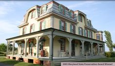 Whitehaven Hotel - Historic Maryland Bed & Breakfast - happily and beautifully restored.