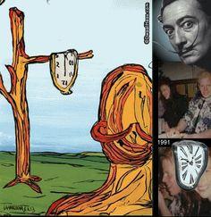 Dwaalhaas.nl Kunst uit Eindhoven : La persistencia de la memoria