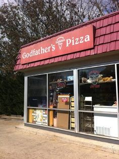Not fancy, But I LOVE Godfather's Pizza.  There is one just outside of New Market Va.