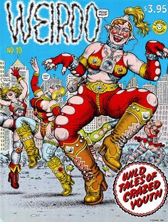 Weirdo 10 by #Robert_Crumb #underground_comics