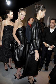 #Christian Dior 2013 - 2014 RTW Paris FW #Backstage