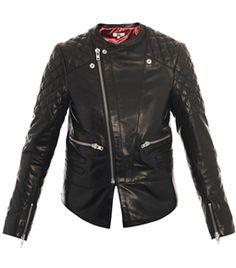 Chris Leather Jacket by rika     #Matchesfashion