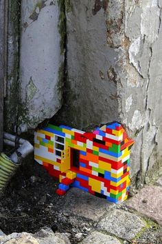 Lego left-over-space