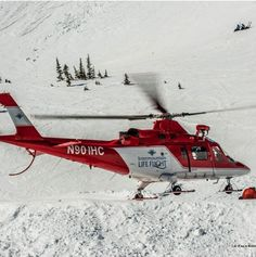 Ski patrol training... awesome life flight helicopters