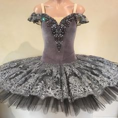 Grey black and silver for Charlotte, July 2017 Ballet Tutu, Ballerina, Ballet Shoes, Ballet Costumes, Dance Costumes, Black Tutu, Colourful Outfits, Charlotte, Daughter