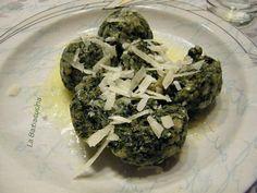 Canederli agli spinaci - ricetta tipica