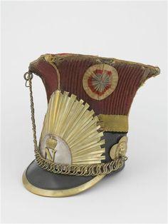 2e Régiment de Chevau-Légers Lanciers de la Garde Impériale, les Lanciers Rouges (2nd Regiment of Lighthorse-Lancers of the Imperial Guard, the Red Lancers). Shako. Circa 1810-1815.