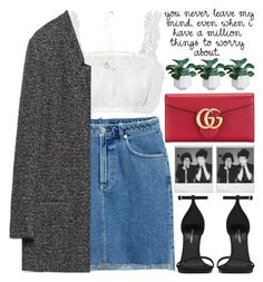 """""""NEW YEAR, NEW TAGLIST (READ DESC) 💜 (^・ω・^ )"""" by rupp ❤ liked on Polyvore featuring H&M, Zara, Yves Saint Laurent, Gucci and Polaroid"""