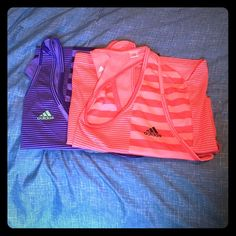 Adidas Climalite Tank Tops I have two gently worn adidas climalite workout tops Adidas Tops Tank Tops