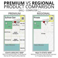 HUNT Colorado Public/Private Land Ownership Topo Maps for Garmin GPS | onXmaps