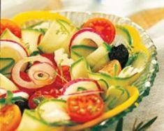 Salade grecque simple