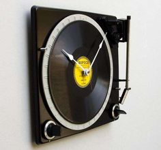 Turntable Time-Tellers