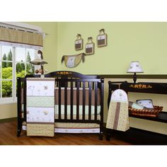 Geenny Boutique Bumble Bee 12 Piece Crib Bedding Set