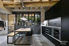 Un loft in stile industriale a Barcellona