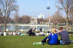 Frühling in Köln / Spring in Cologne. Foto: Christoph Hardt