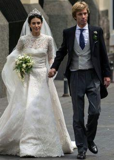 Wedding of Christian de Hannover and Alessandra de Osma 16 MARS 2018