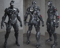 I designed it all by myself Combat Suit, Combat Armor, Suit Of Armor, Body Armor, Armor Concept, Concept Art, Character Concept, Character Design, Fantasy