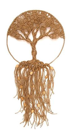 macrame - tree of life branches wall hanging - macramilka - fabulous!
