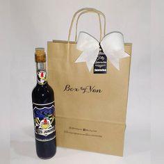 Vinho personalizado 🍷 Presente especial que o Juninho recebeu de aniversário 😊 #BoxbyVan .. .. .. #vinhopersonalizado #presentehomem #presentepersonalizado #presentecriativo #vinho