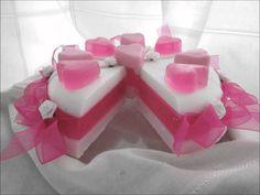 Soap cakes - zeeptaartjes