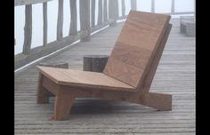 Carlos Motta – Design – Out… - Armchair Ideas Lawn Furniture, Unique Furniture, Furniture Making, Furniture Design, Outdoor Furniture, Woodworking Inspiration, Garden Chairs, Diy Chair, Diy Woodworking