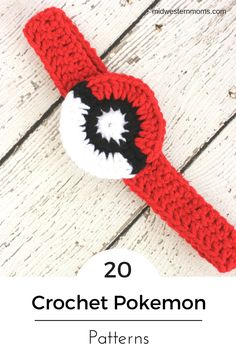 20 Crochet Pokemon Patterns you NEED to make! You can find a little bit of everything. From Pokeballs, to headgear, to footwear, you will for sure find something you love!