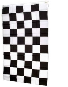 Checkered Flag 3x5 3 x 5 Brand NEW Racing Black & White