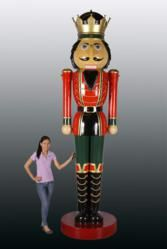 Christmas Night Inc. Debuts New Enormous Nutcracker Display. Make a statement this holiday season with Christmas Night Inc.'s 12-foot Nutcracker King