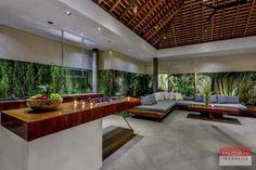 Living area at Villa Banyu, Seminyak